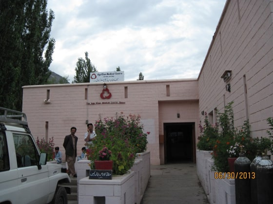 Tha Aga Khan Health Centre in Booni, Chitral. Photo: Badrudin Kurwa Collection. Copyright.